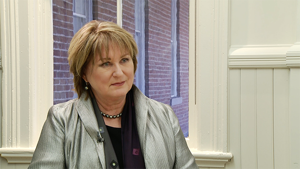 UA President Ann Weaver Hart in March 9, 2015 interview.