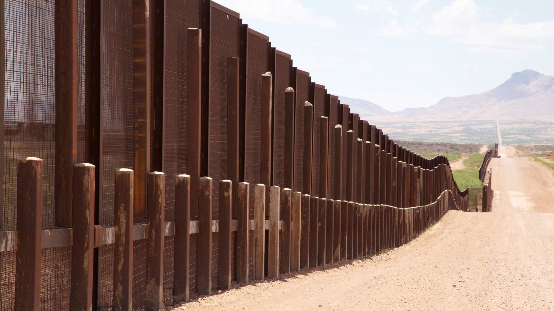 U.S. Border Wall, Illegal Immigration hero