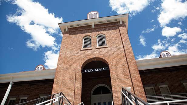University of Arizona Old Main spot