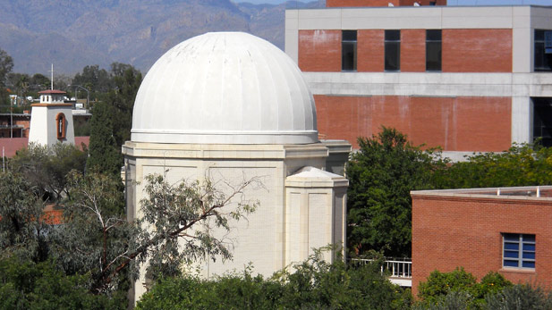 The Steward Observatory on the University of Arizona campus