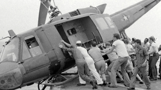 A still image from the documentary Last Days in Vietnam.