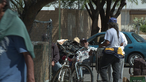 Tucson's Homeless spot