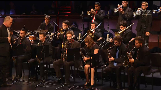 The Tucson Jazz Institute's Ellington Band performs at Lincoln Center