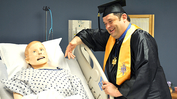 Kenneth Lee is earning an associate degree in Pima Community College's clinical research coordinator program. He'll deliver the student speech at the college's spring graduation ceremony Friday.