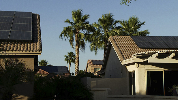 Pebble Creek has 4,359 houses, and nearly one-quarter, 1,002, have rooftop solar.