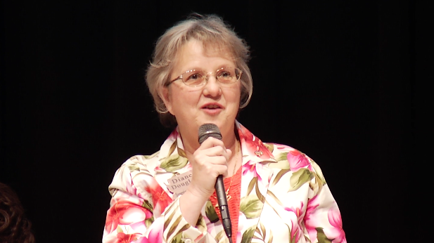 State Superintendent of Public Instruction Diane Douglas, at Tucson forum, May 28, 2015.