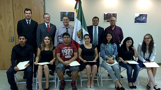 Immigrant students with temporary work permits get scholarship for PCC.