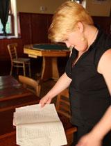 Erika Burkhart Piano Bar Portrait
