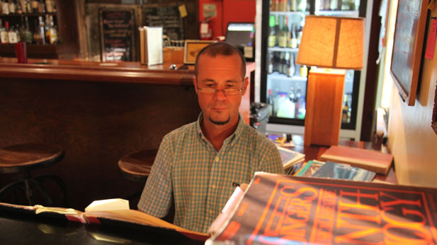Elliot Jones, PhD,  holds a piano bar at The Dusty Monk Pub in downtown Tucson where he enjoys playing for singers.