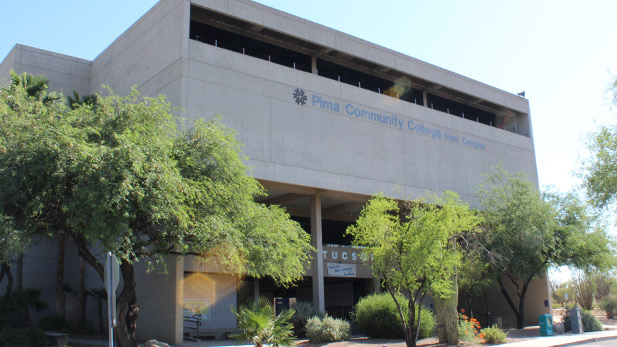 The west campus of Pima Community College.