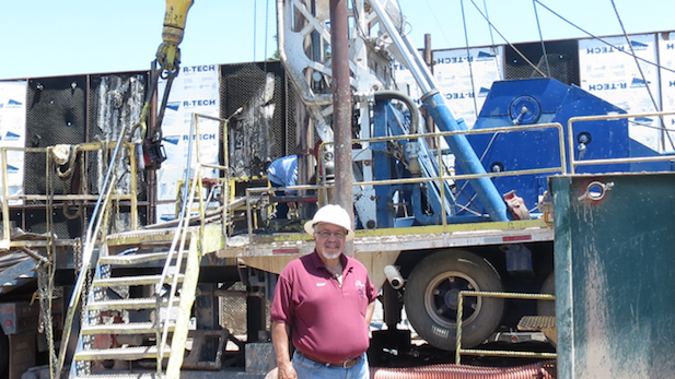 Ralph Anderson of Arizona Beeman Drilling says his business is booming.