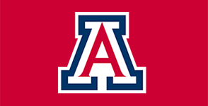 The 'Block A' logo of the University of Arizona.
