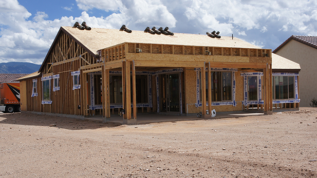 New homes continue to go up in the Saddlebrooke Ranch.
