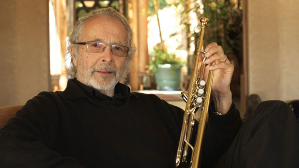 herb alpert sitting spotlight