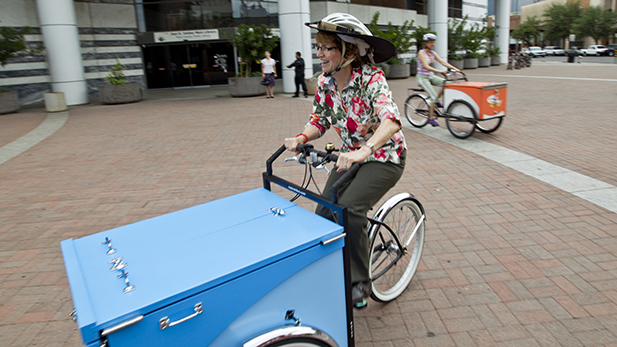 Library Book Bikes Riding To Reading Giveaways Azpm