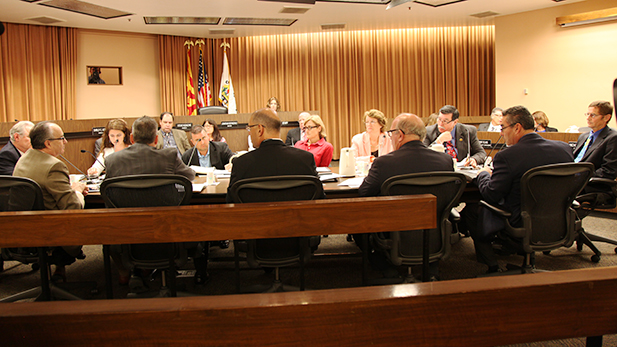 """Tucson City Council voted to ask Sun Tran management to """"make every effort"""" to end the strike immediately on Wednesday, Sept. 9, 2016."""