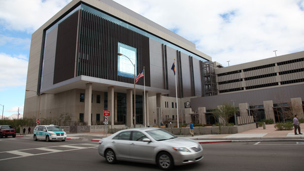 The new Public Service Center houses different offices including the Pima County assessor, recorder and treasurer.