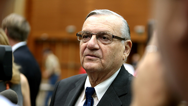 Maricopa County Sheriff Joe Arpaio in August 2016.