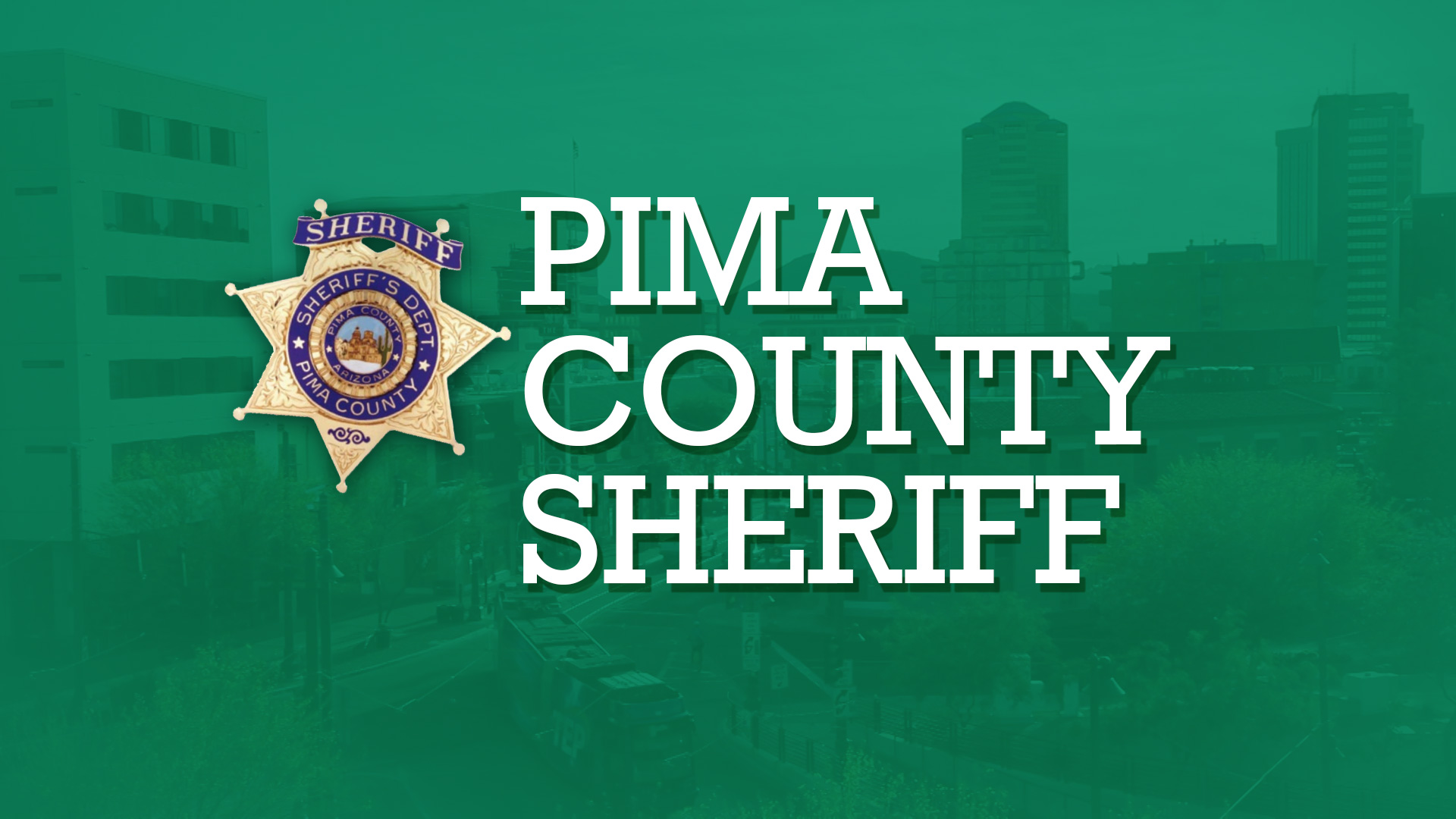 Pima County Sheriff's Department spot