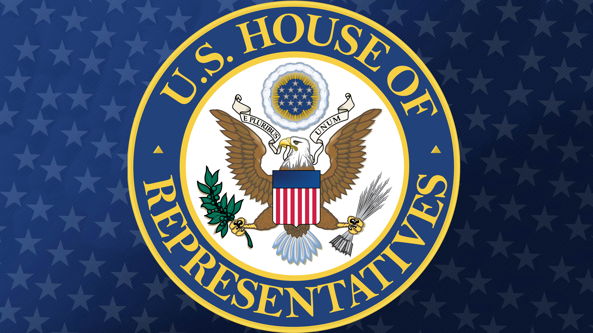 House of Representatives Seal white hero