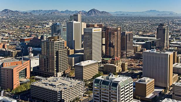 Downtown Phoenix, 2009.