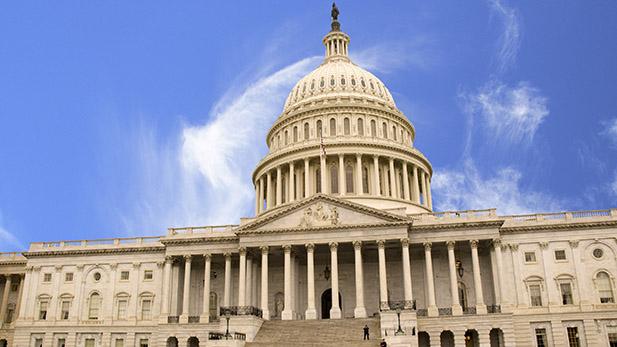 US Capitol building spot