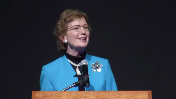 Mary Robinson, who served as the first woman president of Ireland from 1990 to 1997, U.N. High Commissioner for Human Rights from 1997 to 2002, and is now the UN Special Envoy for Climate Change, discusses the importance of including the most vulnerable populations of the world in solutions to climate change.