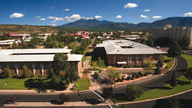NAU campus Flagstaff spot