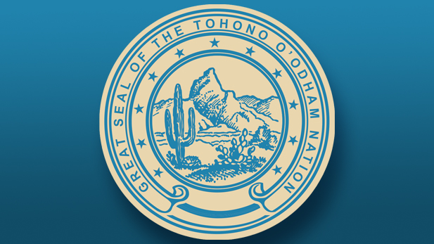 Seal of the Tohono O'odham Nation.