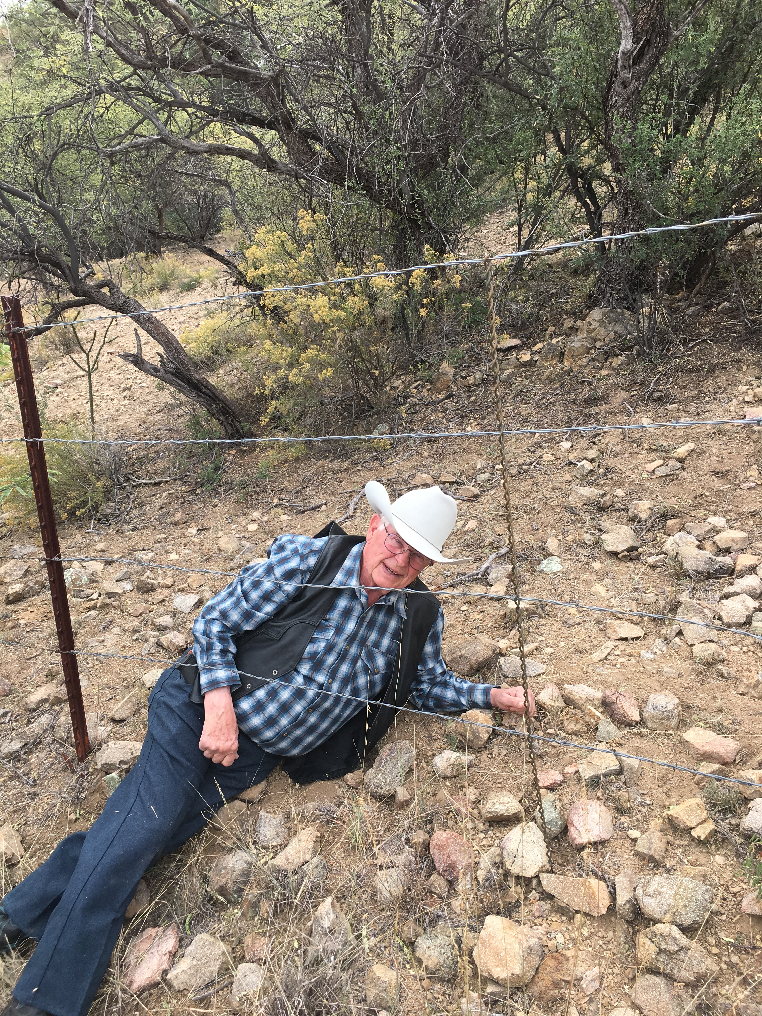 Rancher border fence