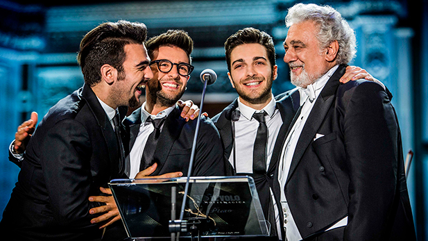 Il Volo with special guest Plácido Domingo.