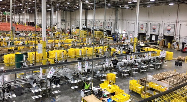 An Amazon facility in Phoenix.