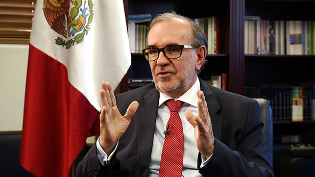 Mexican Ambassador to the U.S. Carlos Manuel Sada Solana, November 2016.