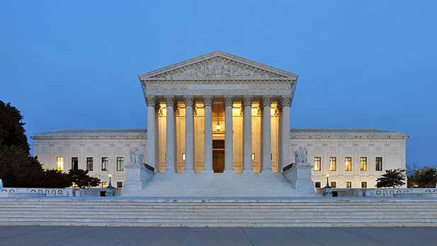 The Supreme Court building, Washington, D.C.