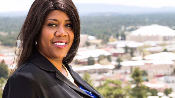Coral Evans, first African-American elected mayor of Flagstaff.