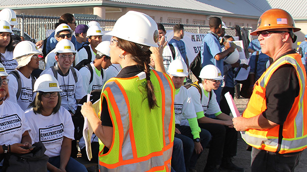 A talk on safety at Southern Arizona Construction Career Days 2016.