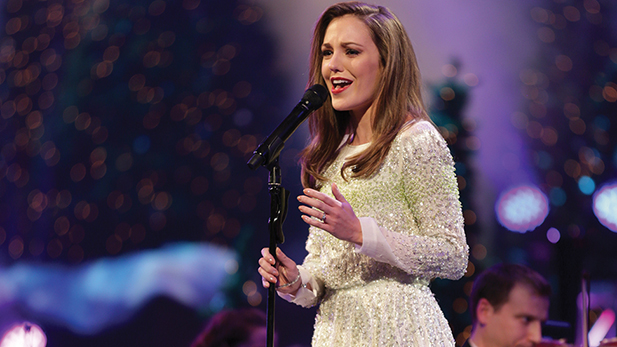 Broadway star Laura Osnes joins the Mormon Tabernacle Choir and Orchestra at Temple Square for the annual Christmas concert.