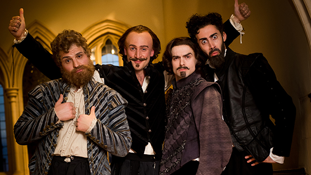Horrible Histories L-R: RICHARD ATWILL, TOM STOURTON, JALAAL HARTLEY, RICHARD DAVID-CAINE