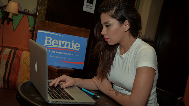 Latinas for Bernie Spot