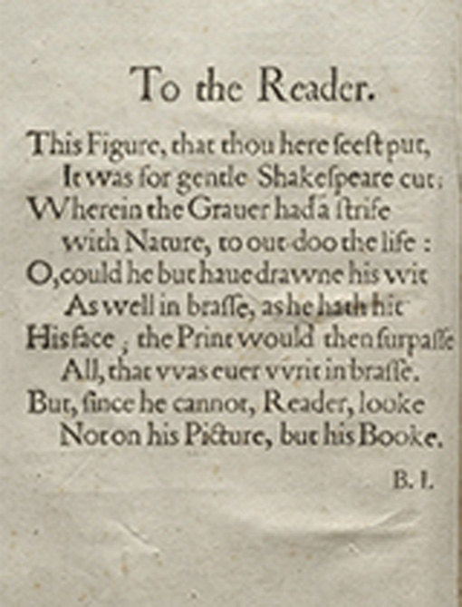 first folio intro large