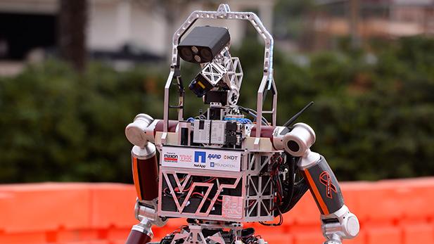 Team Valor, from Virginia Tech's robot Escher