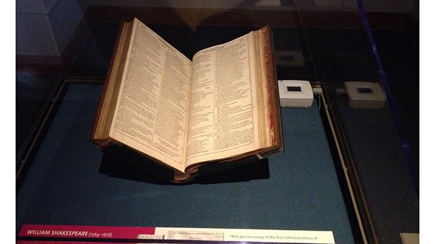 First Folio at UA