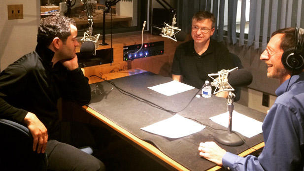Andrew Grams and Christopher Pfund speak with AZPM's Andy Bade about their concert with the Tucson Symphony Orchestra and Chorus and the Tucson Arizona Boys Chorus.