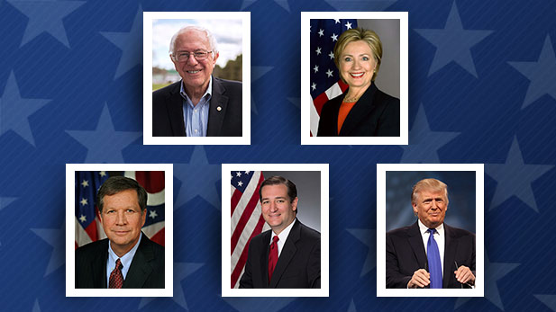Election Presidential Primary 16 spot