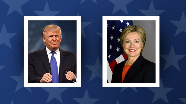 Republican Donald Trump and Democrat Hillary Clinton were declared the Arizona Presidential Primary winners on March 22, 2016.