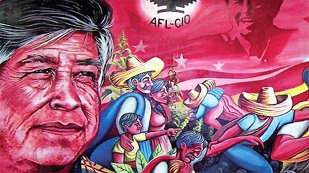 César Chávez mural Spot