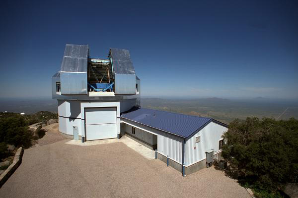 The WIYN Observatory with a 3.5-meter telescope atop Kitt Peak National Observatory.