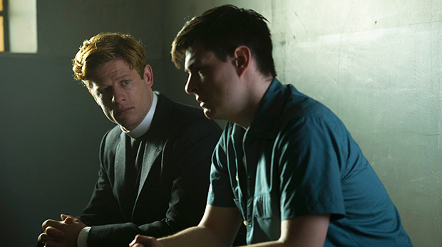 James Norton as Sidney Chambers and Sam Frenchum as Gary Bell