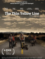 thin yellow line poster portrait