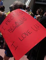 4-14-16 UA grad student walk out portrait